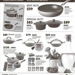 Meyer Cookware promotion @ BHG