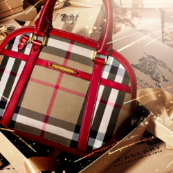 Burberry Small Orchard House Check Satchel @JomaDeals
