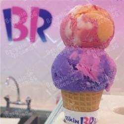 Tickle pink and enjoy Buy 1 Free 1 @ Baskin Robbins