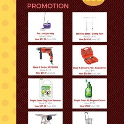 Easter promotion @ Selffix DIY