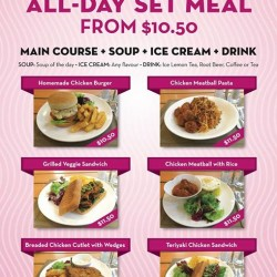 All day set meals from $10.5 @ New Zealand Natural