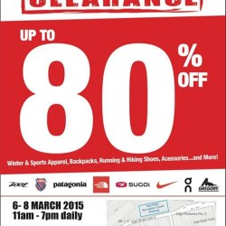 Sports Warehouse Clearance @ Running Lab