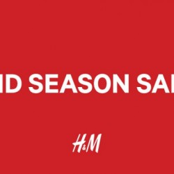 Mid Season Sale @ H&M