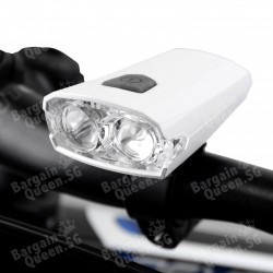 BV LED Rechargeable Bicycle Light @ Amazon