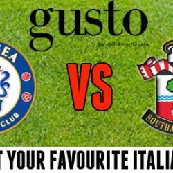 Chelsea VS Southampton LIVE Happy Hour @ Alfresco Gusto