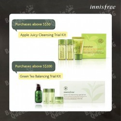March gift with purchase promotion @ Innisfree