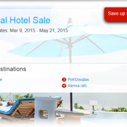 Global Hotel Sale: up to 40% on hotels bookings
