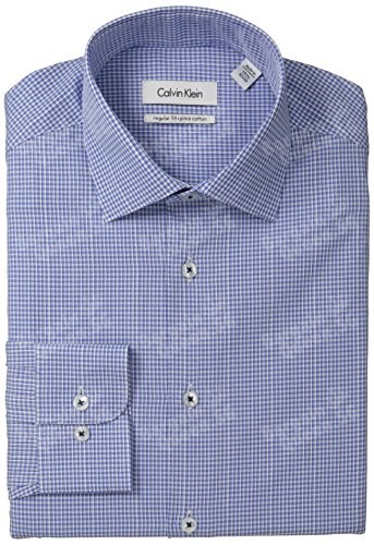 Calvin-Klein-Mens-Regular-Fit-Mini-Gingham-0