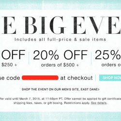 Post CNY Crazy Sale @ Shopbop.com