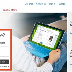 Exclusive promotions @ Microsoft Store Singapore