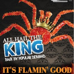 Charcoal-grilled King Crab and Snow Crab is Back @ Sakura International Buffet Restaurant