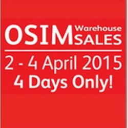 OSIM Warehouse Sale 2015