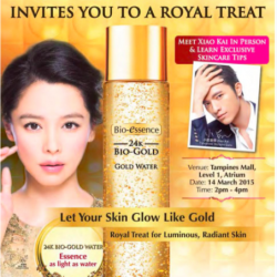 Bio Essence Road Show special @ Tampines Mall