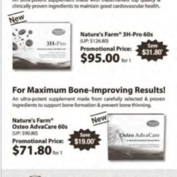 March promotion @ Natures Farm