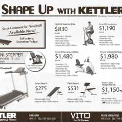 Shape up Promotion @ Kettler