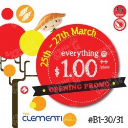 Sushi Express Singapore Clementi Opening Special