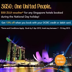 $50 voucher for every SG hotel booking @ ZUJI