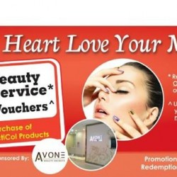 Free Beauty Service + S$20 Voucher @ AvonE Beauty Secrets