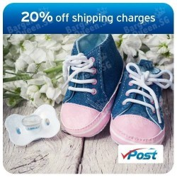 20% off vPost shipping charges with Citibank Card