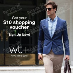 Sign up as WingTai Retail member and get $10 voucher from selected brands