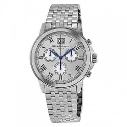Raymond Weil Tradition Chronograph Stainless Steel Mens Watch 4476-ST-00650 @ eBay