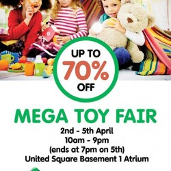 Up to 70% Off Mega Toy Fair @ Early Learning Centre
