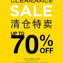 Up to 70% Off Clearance sale @ NET