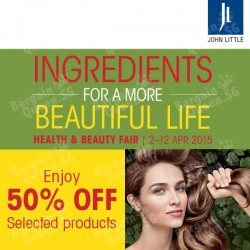 50% Selected Products @ John Little