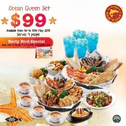 Mother's Day special @ The Manhattan FISH MARKET