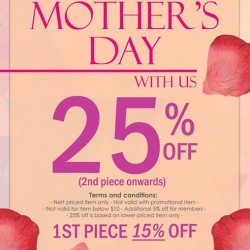 Purpur Mother's Day Promotion: Up to 25% Off For 2nd piece