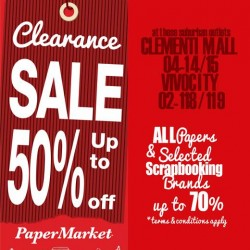 Suburban CLEARANCE SALE up to 70% off @ PaperMarket