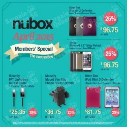 monthly member's specials @ nübox