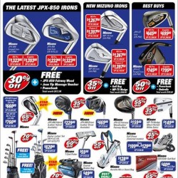 Up to 70% off Mizuno Fair @ Golf House