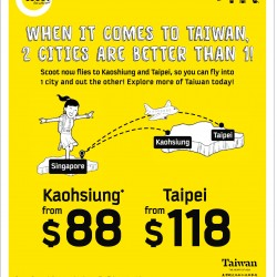 Taiwan Promotion @ Scoot