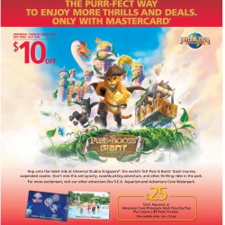 $10 off day pass @ Universal Studio