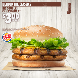 E-Coupon Encore – The Winning Coupons @ Burger King