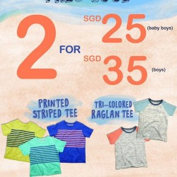 Tres Cool Promotion for baby boys and boys @ Gingersnaps