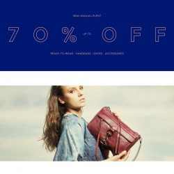 Semi-Annual Sale @ Rebecca Minkoff USA