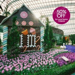 50% Discount for Local Senior Citizens @ Gardens by the Bay