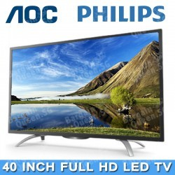 "(Flash Deal) AOC by Philips 40"" Full HD LED TV"