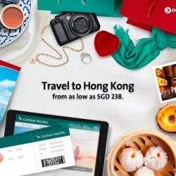 Travel to HongKong with as low as S$238 @ SilkAir