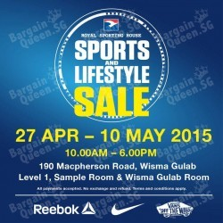 Sports And Lifestyle Sale @ Royal Sporting House