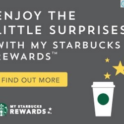 Introducing My Starbucks Rewards™ Program @ Starbucks