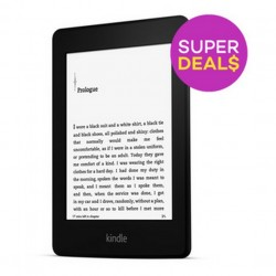 Amazon Kindle Paperwhite 4GB WiFi 2014 with Ads (Black) (EXPORT) @Lazada.sg
