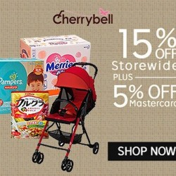 15%  + 5% off @ CherryBell on Rakuten with Master Card