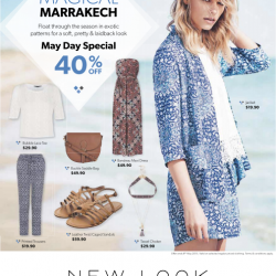 Magical Marrakech May Day Special 40% Off @ New Look