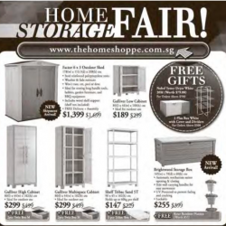 Home Storage Fair @ The Home Shoppe