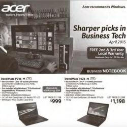 Business PC & Notebook promotion @ Acer