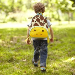Skip Hop Zoo Pack Little Kid Backpack - Giraffe @ Lazada