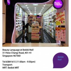 Bedok Mall Grand Opening SALE @ Beauty Language